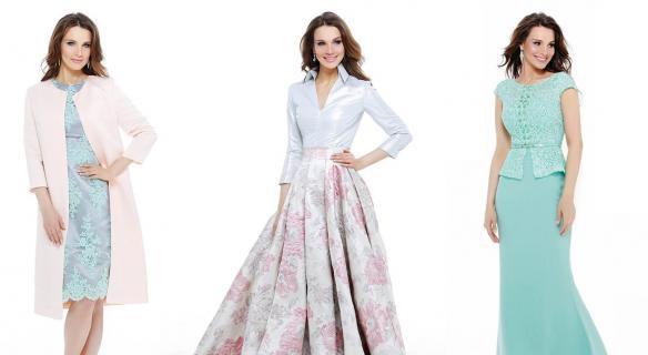 Платья для дам элегантного возраста