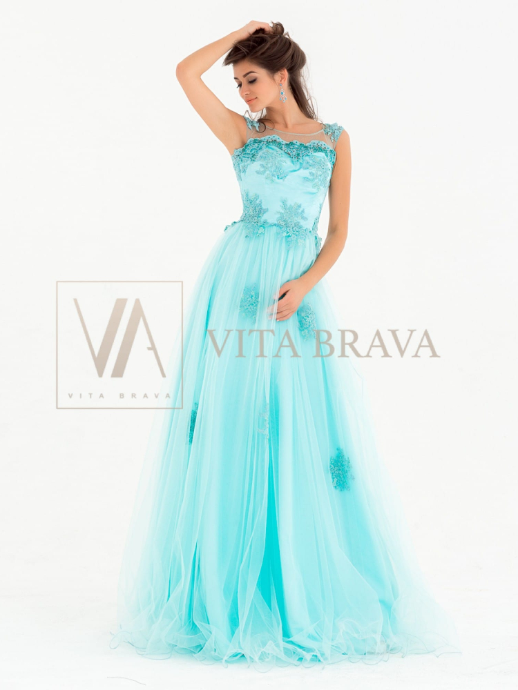 Вечернее платье MX3790F #1