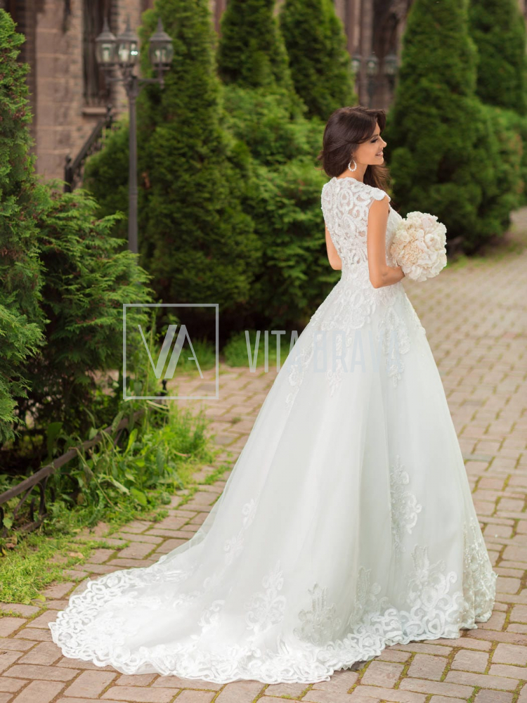 Свадебное платье WH5444 #2