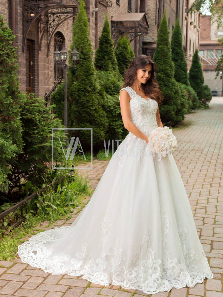 Свадебное платье WH5444 #3